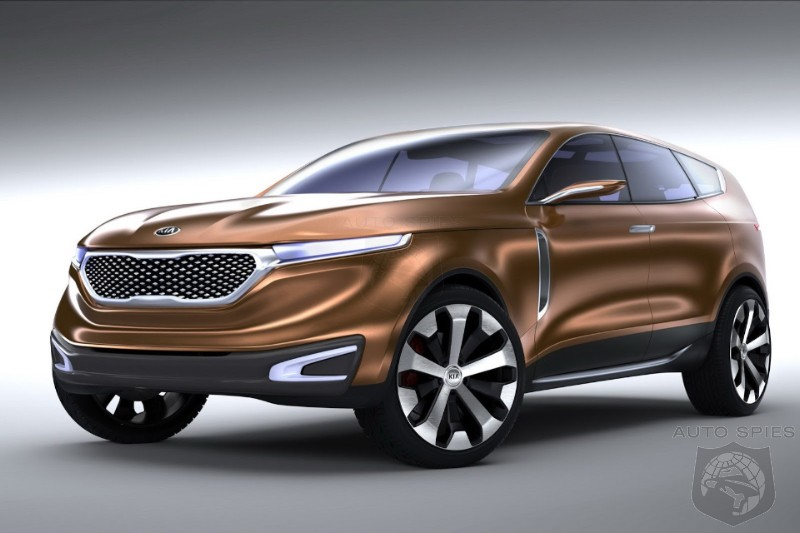 CHICAGO AUTO SHOW: Who Is Kia Gunning For With The Cross GT Coupe?